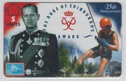 GIBRALTAR 1996 THE DUKE OF EDINBURGH'S AWARD PRINCE PHILIP SNAPLING MINT - Gibraltar