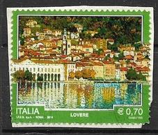 ITALIA  2014 TURISTICA SASS. 3497  USATO VF SU FRAMMENTO - 2011-...: Usati