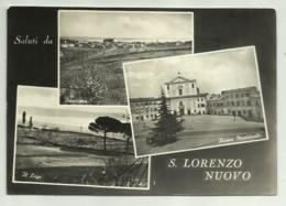 SALUTI DA  S.LORENZO NUOVO - VEDUTE  VIAGGIATA  FG - Viterbo