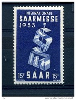 Sarre  :  Yv  319  ** - Unused Stamps
