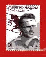 Italia ° -  2019 - VALENTINO MAZZOLA.  Usato  . - 6. 1946-.. Repubblica