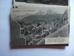 Duitsland Deutschland Bayern Berchtesgaden Von Der Locksteinstrasse Alt - Berchtesgaden