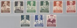 DR 556-564, Postfrisch *, Nothilfe: Berufsstände 1934 - Allemagne