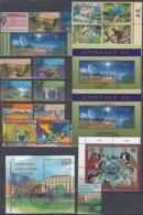 UNO GENF Jahrgang 1999, Gestempelt, Komplett MiNr. 360-383 Mit Block 11 I - Geneva - United Nations Office