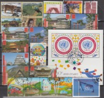 UNO GENF Jahrgang 2001, Gestempelt, Komplett MiNr. 409-432 - Used Stamps