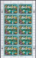 UNO GENF, MiNr. 194-197, Kleinbogen, Postfrisch **, Für Eine Bessere Umwelt 1991 - Blocks & Sheetlets