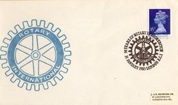 1983 , GRAN BRETAÑA , ROTARY INTERNATIONAL , SOBRE CONMEMORATIVO, SHOREDITCH - Rotary, Club Leones