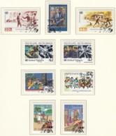 UNO NEW YORK Jahrgang 1987, Gestempelt, Komplett MiNr. 519-543 - New York -  VN Hauptquartier