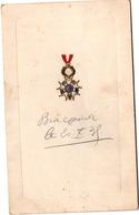 Salons Verdonck Valenciennes 1935 - Menu Amicale Légion D'honneur - Copieux ! - 16,5 X 10 Cm - Menu