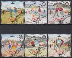 Alderney MiNr. 230/35 O 100 Jahre Internationaler Fußballverband - Alderney