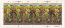 UNO WIEN 81-82, Kleinbogen, Gestempelt, Rettet Den Wald 1988 - Blocks & Kleinbögen