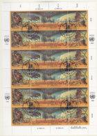 UNO WIEN 156-159, Kleinbogen, Gestempelt, Klimaveränderungen Durch Umweltverschmutzung 1993 - Blocks & Kleinbögen