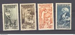 Sarre  :  Mi  104-07  * - 1920-35 League Of Nations