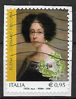 ITALIA  2017 IL GENIO FEMMINILE ITALIANO SASS. 3811 USATO VF - 2011-...: Usati