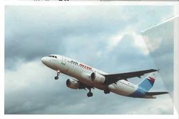 Air Inter Airlines A320 Airbus Industrie Airplane Air French - 1946-....: Era Moderna