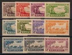 Sénégal - 1935 - Poste Aérienne PA N°Yv. 1 à 11 - Série Complète - Neuf Luxe ** / MNH / Postfrisch - Senegal (1887-1944)