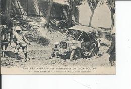 RAID PEKIN PARIS SUR AUTOMOBILES DE DION BOUTON   Avant Hwai Lai - Passenger Cars