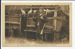 Types Landais - Chasseurs De Palombes Avec Ses Appeaux - Francia