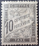 R1615/932 - 1881 - TIMBRE TAXE TYPE DUVAL - N°15 NEUF(*) BON CENTRAGE - 1859-1955 Mint/hinged