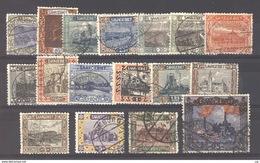 Sarre  :  Yv  53-68  (o)   Avec 57c ,   N2 - 1920-35 Société Des Nations