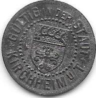 *notgeld Kirchheim 5 Pfennig  1917 Zn   7129.1/  F244.1 - [ 2] 1871-1918 : Empire Allemand