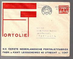 FORTOLIIET (Piet Zwart) Fabriek Leidscheweg 40 Utrecht (materiaal Voor Vloeren - Puien Schoorsteenmantels) (FE35) - 1891-1948 (Wilhelmine)