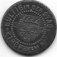 *notgeld Kirchheim 5 Pfennig  1917  Fe  7129.3/  F244.3b - [ 2] 1871-1918: Deutsches Kaiserreich