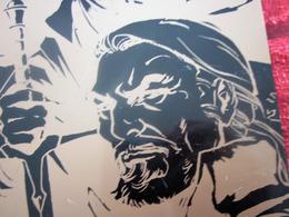 Plaque Émaillée Le Troisième Testament Série Bande Dessinée Aventure Fantastique Dessin Alex Alice écrit  Xavier Dorison - Advertising (Porcelain) Signs