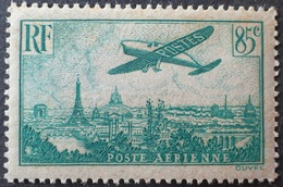 R1615/939 - 1936 - POSTE AERIENNE - AVION SURVOLANT PARIS - N°8 NEUF** LUXE - 1927-1959 Mint/hinged