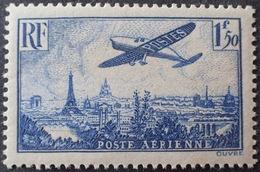R1615/940 - 1936 - POSTE AERIENNE - AVION SURVOLANT PARIS - N°9 NEUF** LUXE - 1927-1959 Neufs