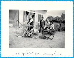 PHOTO Photographie MOTOCYCLETTE Avec Remorque - Ohne Zuordnung
