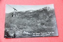 Bolzano No Trento Lana Presso Merano La Funivia 1956 + Timbro S. Vigilio - Italia