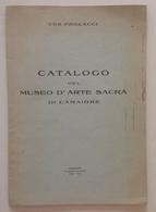 Ugo Procacci Catalogo Del Museo D'Arte Sacra Di Camaiore Tip. Benedetti 1936 - Books, Magazines, Comics
