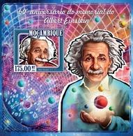 Mozambique, 2015. [moz15103] Albert Einstein (s\s+m\s) - Albert Einstein