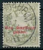 BAYERN PORTOMARKEN Nr 13By Gestempelt X891D02 - Bayern