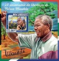 Mozambique, 2015. [moz15120] Nelson Mandela (s\s+m\s) - Famous People