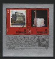 Österreich 2009 MiNr.: BL50 Christo Ersttag; Austria FDC - Blocks & Sheetlets & Panes