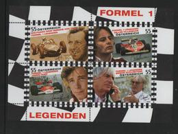 Österreich 2009 MiNr.: BL51 Formel 1 Ersttag; Austria Formula 1 FDC - Blocks & Sheetlets & Panes