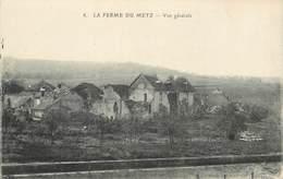 """CPA FRANCE 02 """"Soupir, La Ferme Du Metz"""" - Francia"""