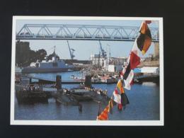 Carte Postale Sous-marin Submarine Agosta Et La Praya à Brest - Sous-marins