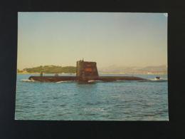 Carte Postale Sous-marin Submarine Agosta - Submarines