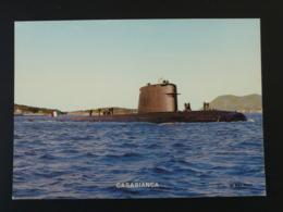 Carte Postale Sous-marin Submarine Casabianca - Sous-marins