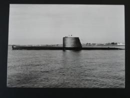 Photographie Marine Nationale Sous-marin Submarine Marsouin - Bateaux