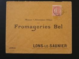 Lettre Oblit. Ambulant Convoyeur Paris à Lyon 1° H 1927 - Poste Ferroviaire