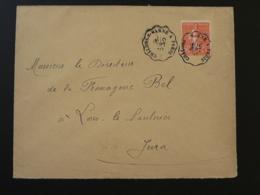 Lettre Oblit. Ambulant Convoyeur Chalons Sur Marne à Paris 1930 - Poste Ferroviaire