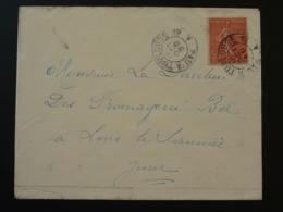 Lettre Oblit. Ambulant Convoyeur Pau à Toulouse 1930 - Poste Ferroviaire