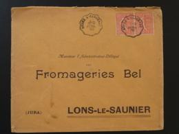 Lettre Oblit. Ambulant Convoyeur Rodez à Capdenac Aveyron 1930 - Poste Ferroviaire