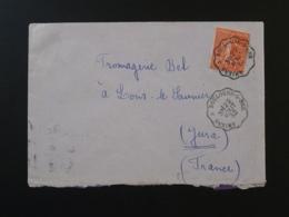 Lettre Oblit. Ambulant Convoyeur Amiens à Boulogne Sur Mer 1932 - Poste Ferroviaire