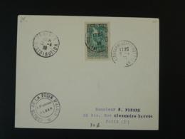 Lettre Pour Paris Foire Commerciale D'Alger 1938 Algérie - Algerien (1924-1962)