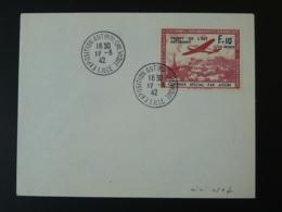 Lettre Exposition Anti-bolchévique Sur Timbre LVF Lille 1942 - Guerres